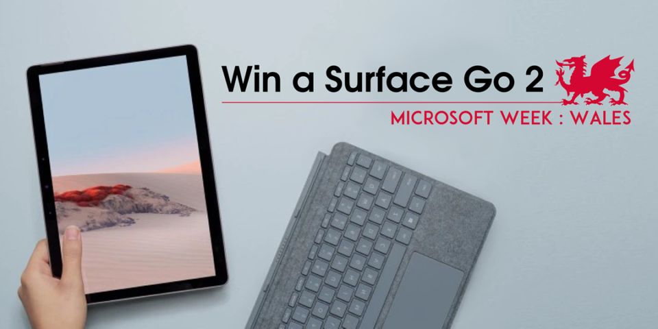Win a Surface Go 2 fw